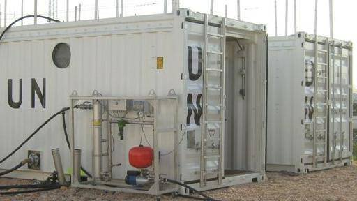 Gallery image 1 - mobile sewage treatment plant for Military & humanitarian camps