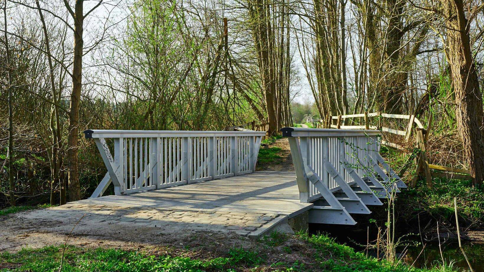 Gallery image 0 - footbridge in a public park