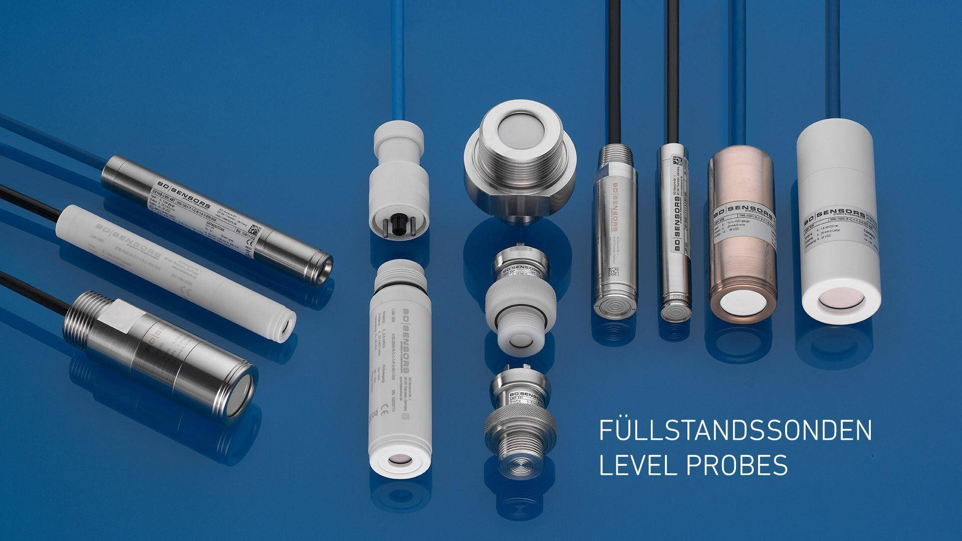 Gallery image 0 - Product selection Level probes / Submersible probes