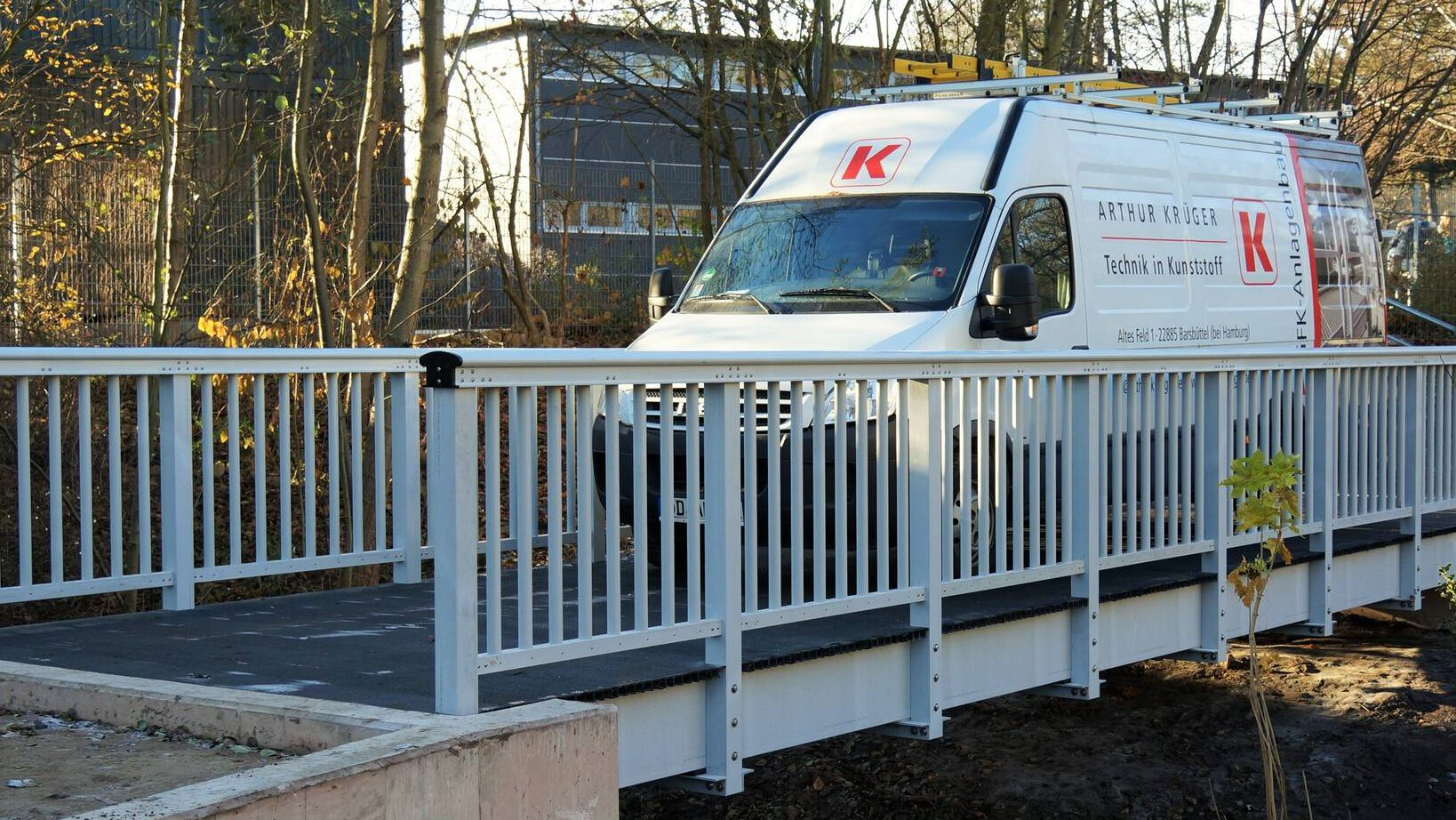 Gallery image 1 - footbridge in a public park
