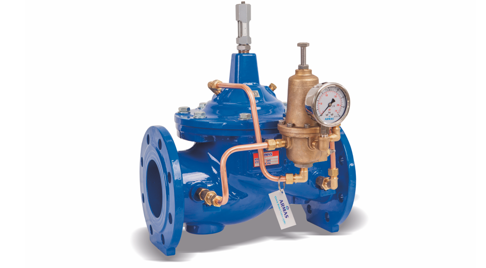 """Gallery image 0 - Armaş 700 series automatic hydraulic control valves are designed in the """"Globe"""" body model type so as to show maximum resistance to cavitation under low head loss in high flow rates."""
