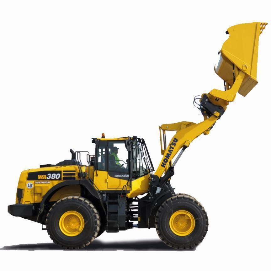 Gallery image 0 - With this specification Komatsu meets the requirements for Wheel loaders in the waste & recycling business.