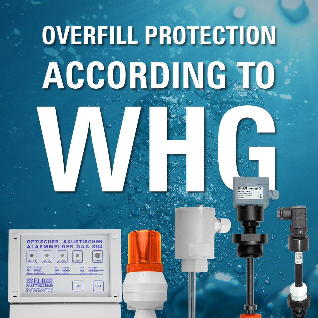 Solution image of Overfill protection according to WHG