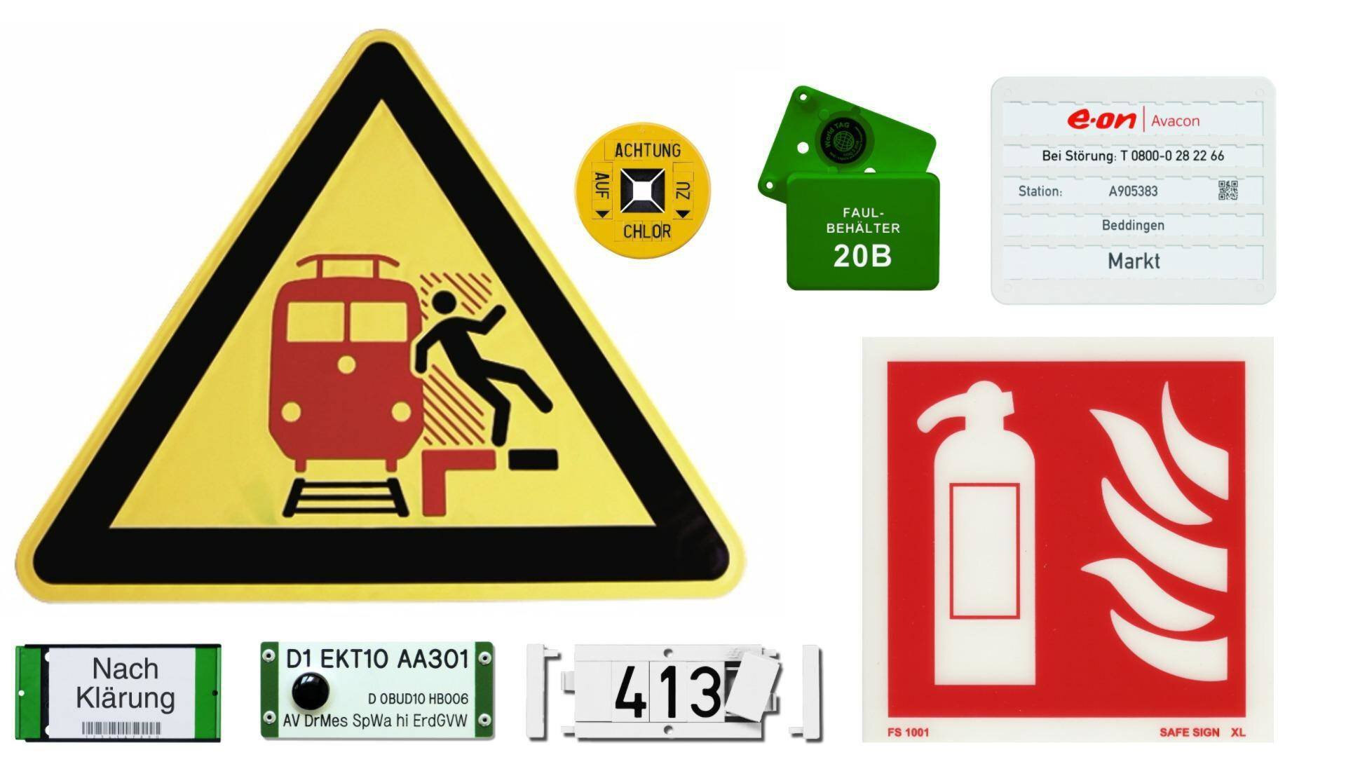 Gallery image 4 - FP - product range signs