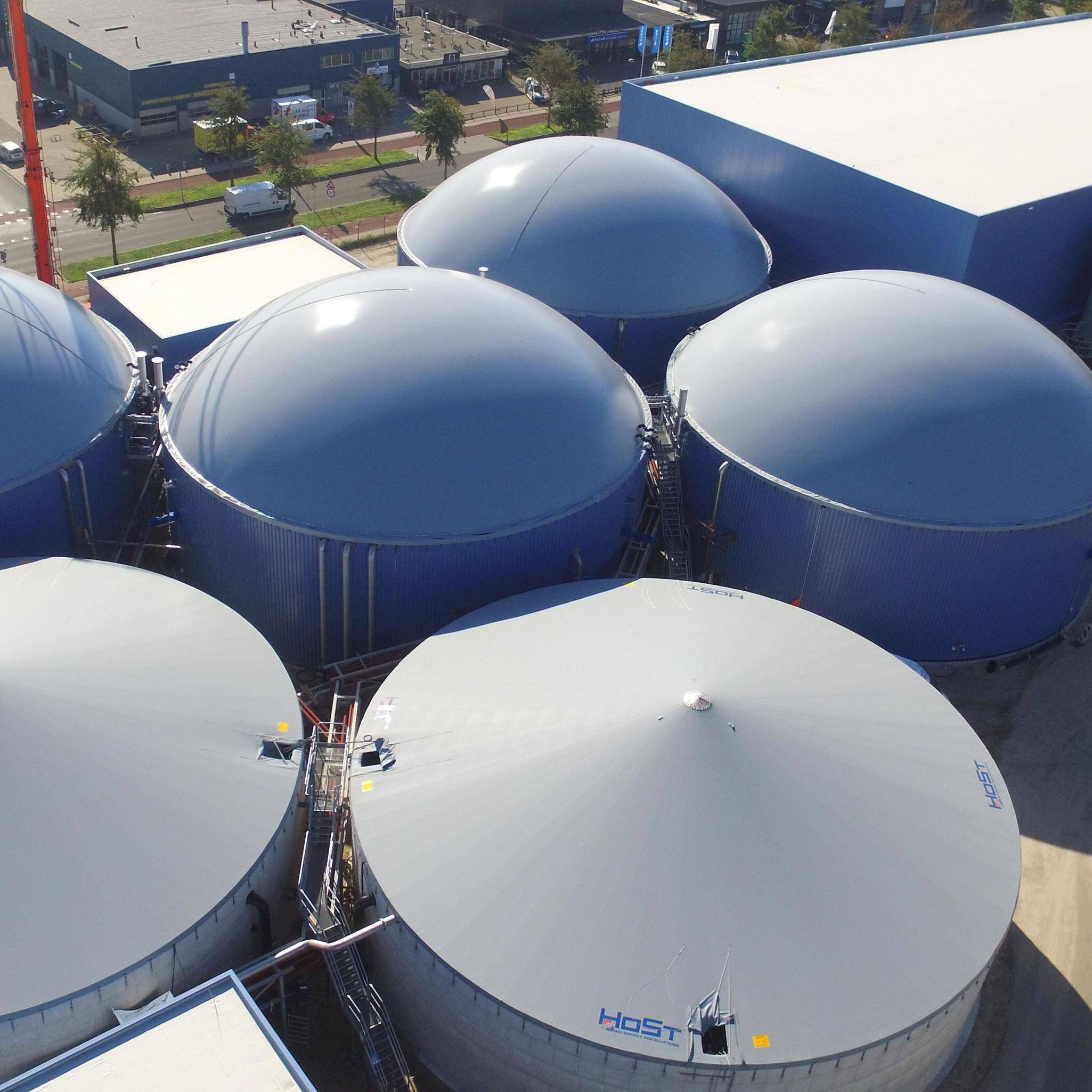 Solution image of Biogas Plants   Anaerobic Digestion for the Production of Biogas