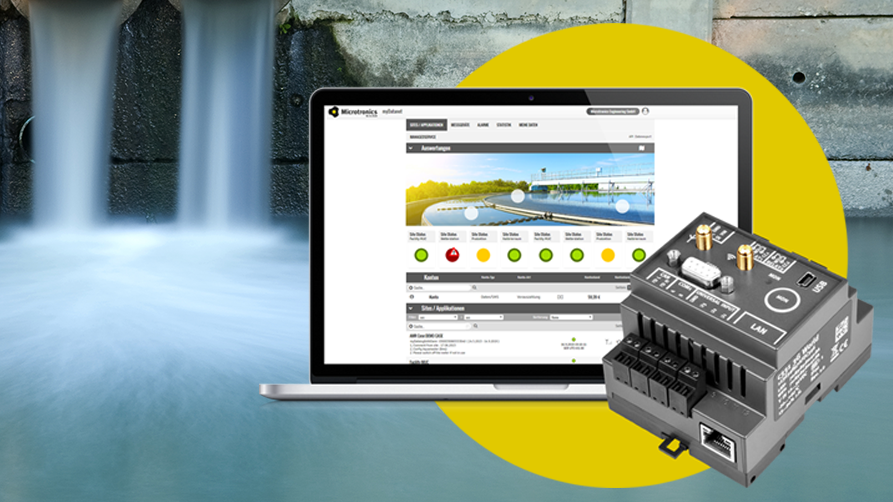 Gallery image 1 - IoT for wastewater treatment - measure, manage, monitore and control