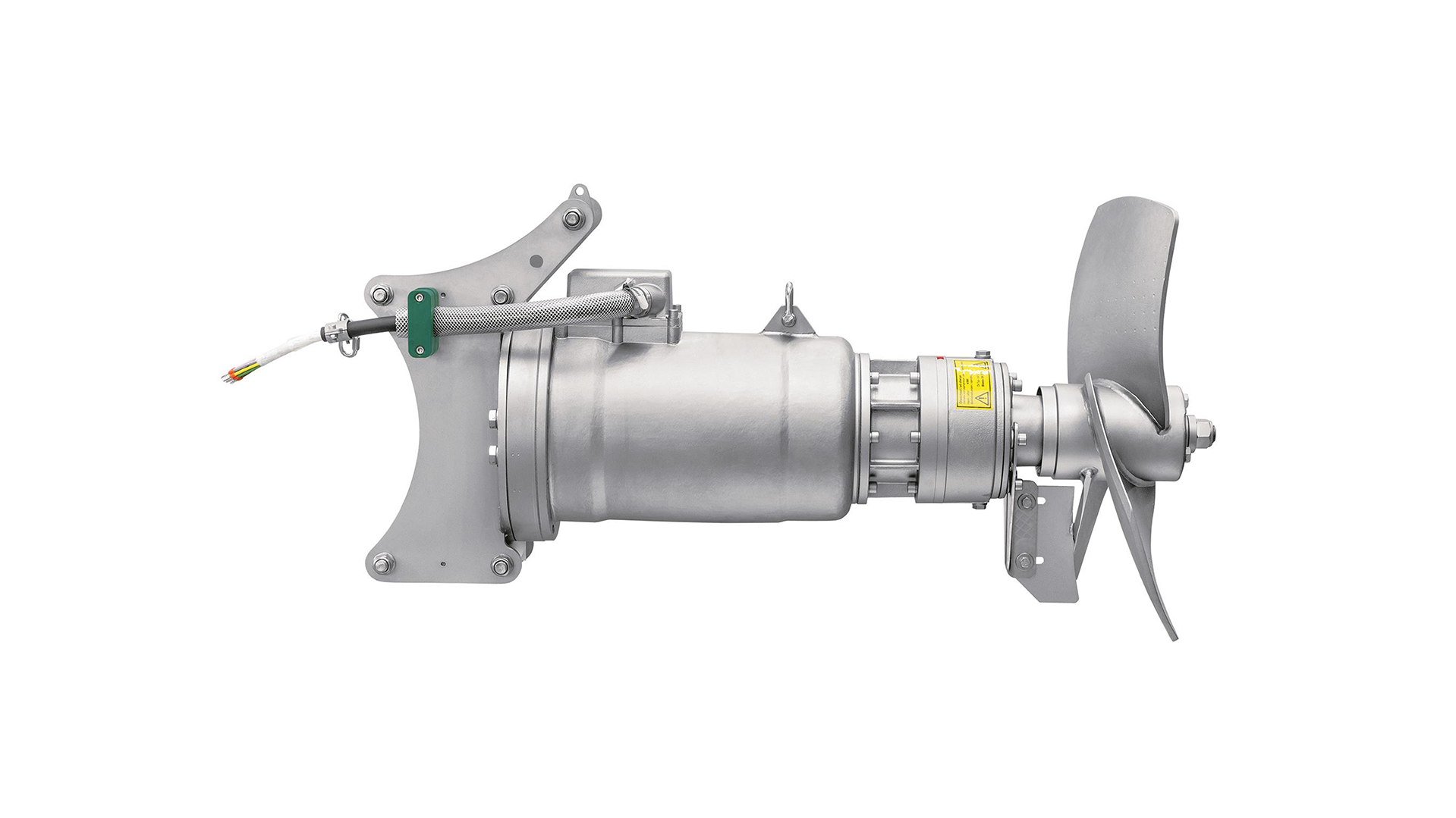 Gallery image 4 - OPTIMIX 2A * Submersible motor completely in stainless steel * For dry matter content up to 12% * Rated power 4.0 kW * Propeller Ø 700 | 620 mm * Propeller speed 180 | 250 rpm * For substrates with low pH-values and operations in extreme aggressive media