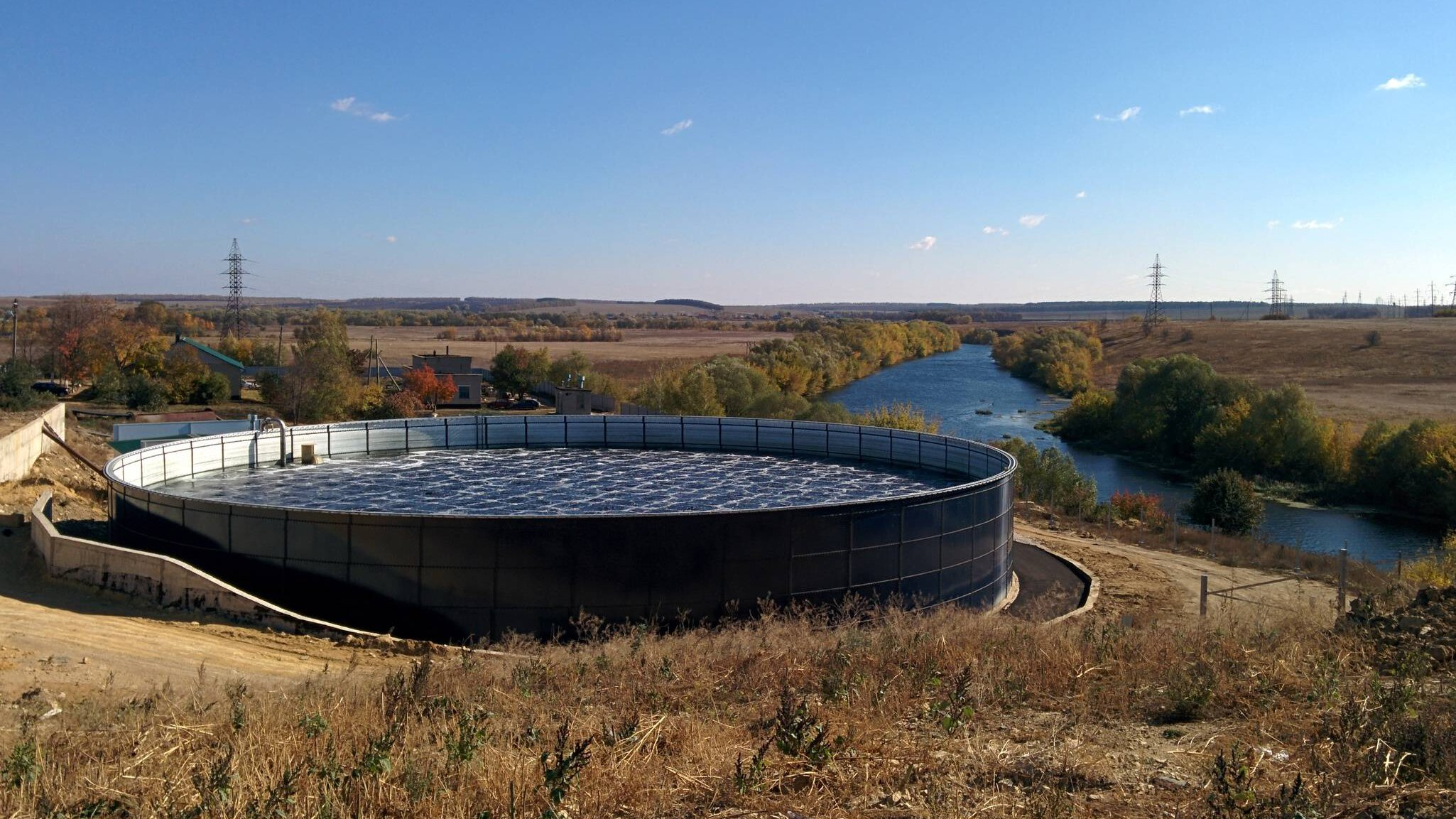 Gallery image 3 - Aerobic wastewater treatment plant for a community in Russia, 15.000 m³/d