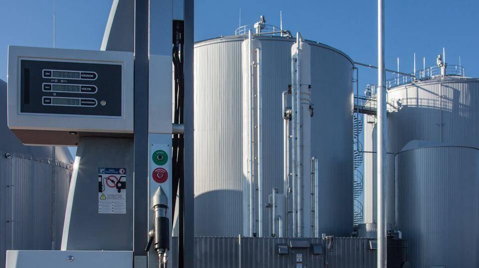 Gallery image 0 - Biogas plant with biogas upgrading to CNG in Skövde, Sweden