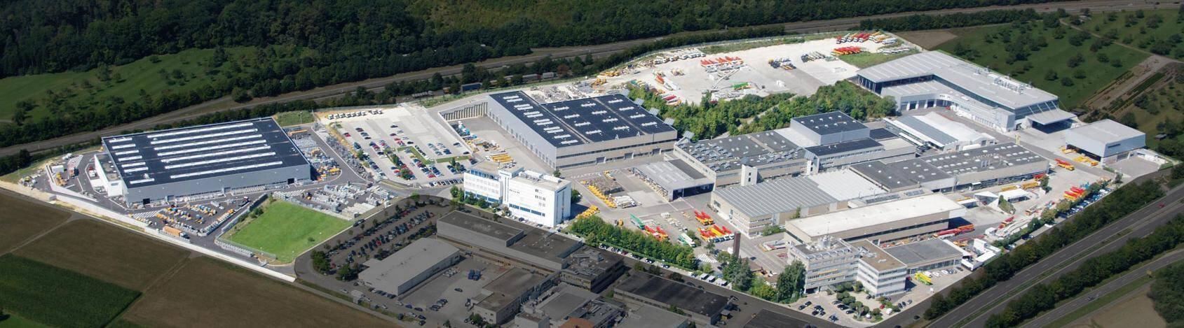 Company banner of Putzmeister Concrete Pumps GmbH