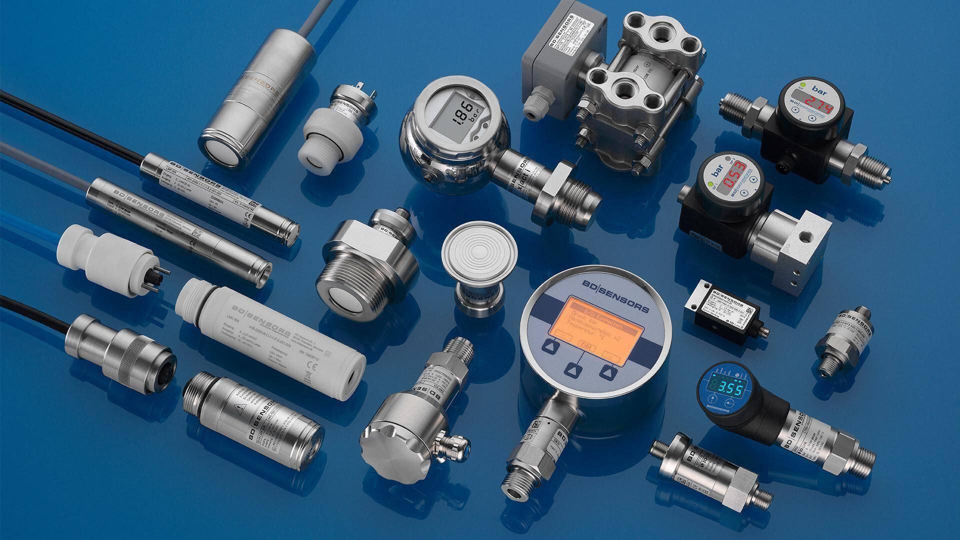 Gallery image 1 - Product range BD|SENSORS for pressure and level measurement: - pressure transmitters - differential pressure transmitters - submersible probes - pressure switches - pressure gauges