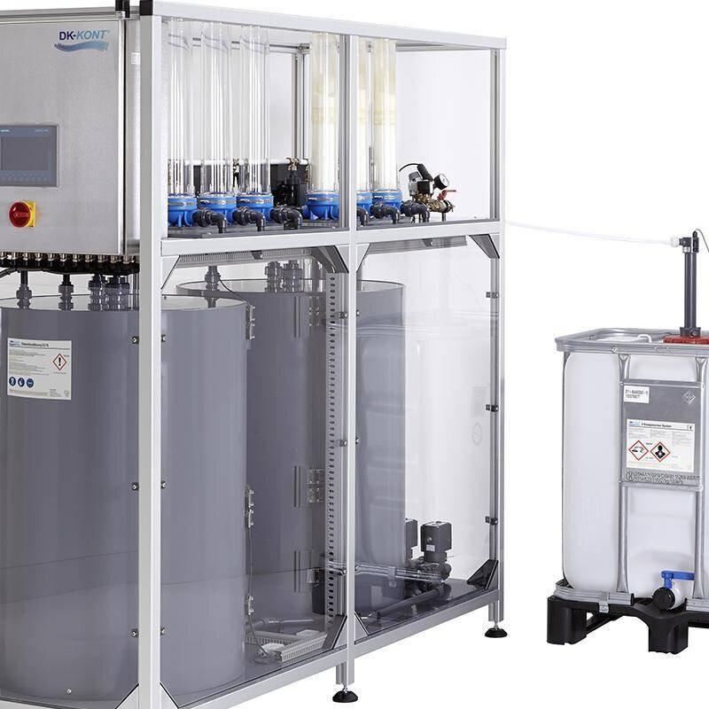 Solution image of DK-KONT® Chlorine Dioxide Generator