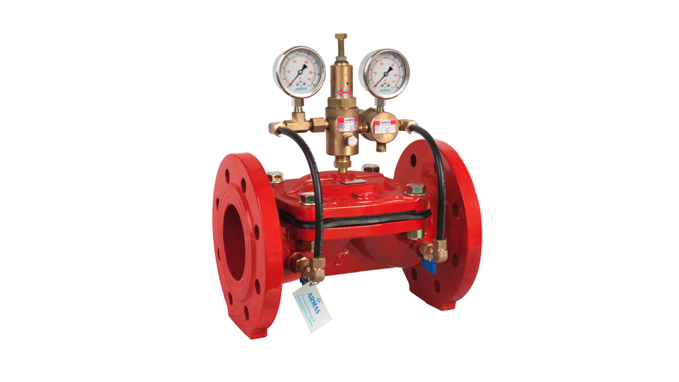 Gallery image 2 - Armaş 600 series valves are the direct diaphragm closing automatic hydraulic control valves which work with line pressure. It ensures easy and smooth flow with minimum pressure losses thanks to excellent design of valve body and diaphragm.