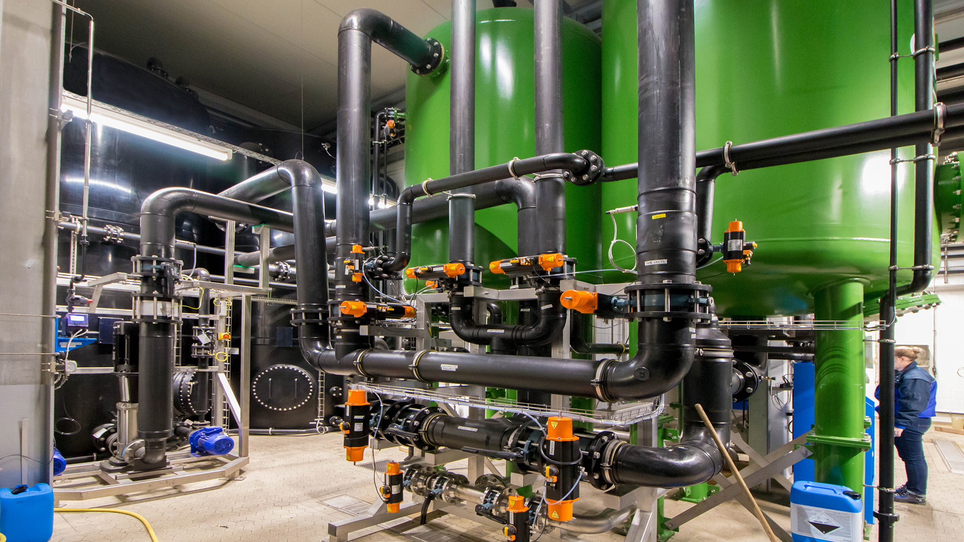 Gallery image 3 - Vapour condensate treatment with multi-layer filters for dairies