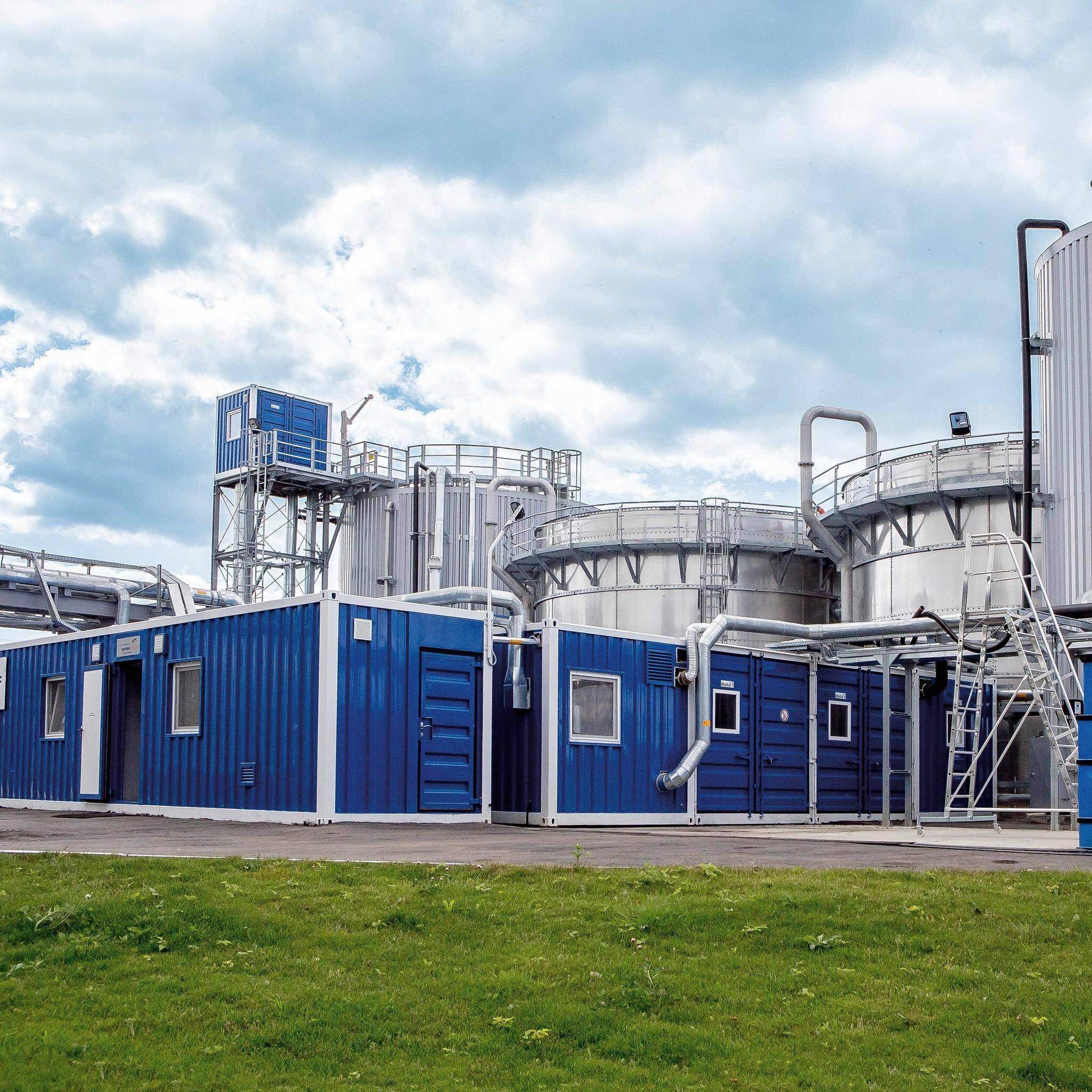 Solution image of Modular water treatment plants EnviModul