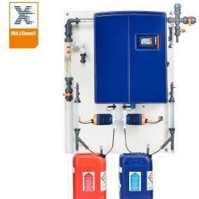 Gallery image 0 - Chlorine dioxide system for the metering of chlorine dioxide with diluted chemicals. The certified output guarantees efficient chlorine dioxide production.