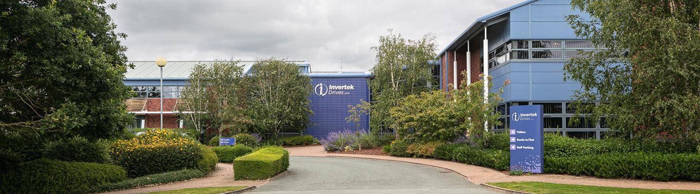 Company banner of Invertek Drives Ltd.