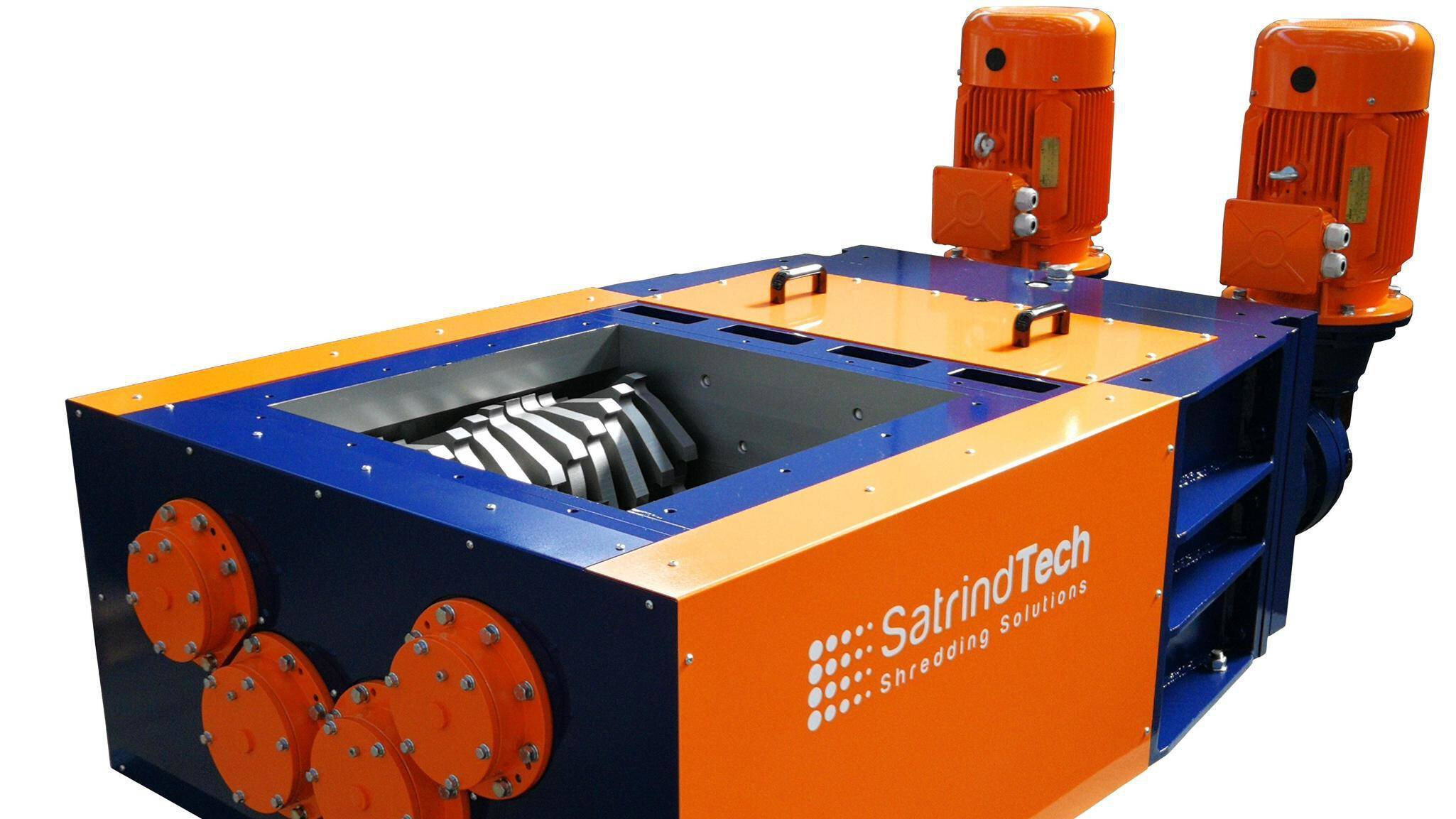 Gallery image 1 - Elictric-drive four shaft shredder 4S; modular construction combining various motorizations and blade thickness.