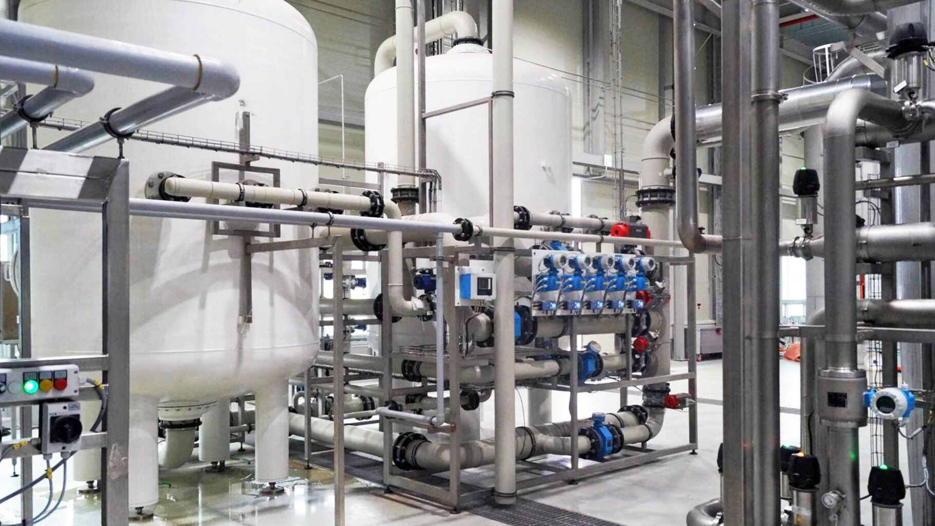 Gallery image 1 - Mineral water treatment plant in Germany, 2.400 m³/d