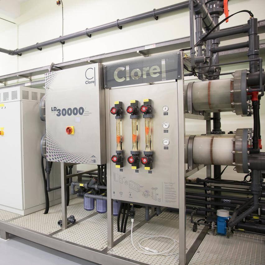 Solution image of Clorel® On-site Sodium Hypochlorite Generator