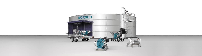 Company banner of Börger GmbH Drehkolbenpumpen