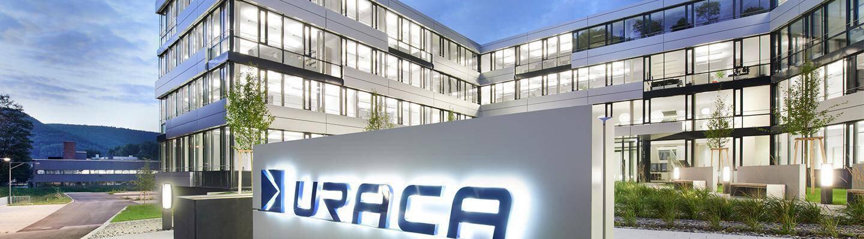 Company banner of URACA GmbH & Co.KG