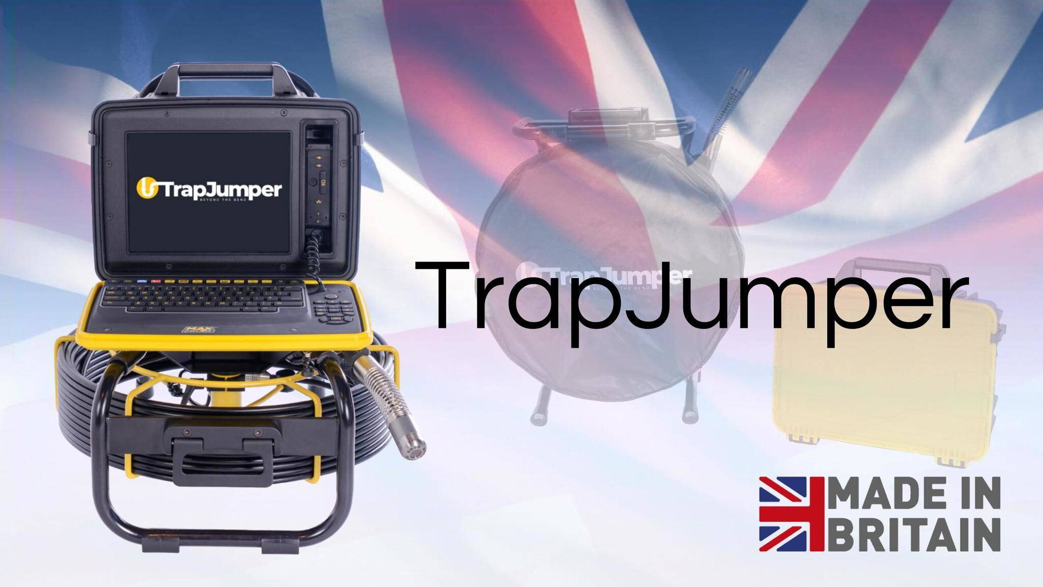 Gallery image 2 - The TrapJumper: * 40 metres * Flexible and portable * Built-in survey reporting software   - create PDF reports on site   - no subscription required * Self-levelling camera * Manufactured in the UK  See more here: https://www.scanprobe.com/product/trapjumper/