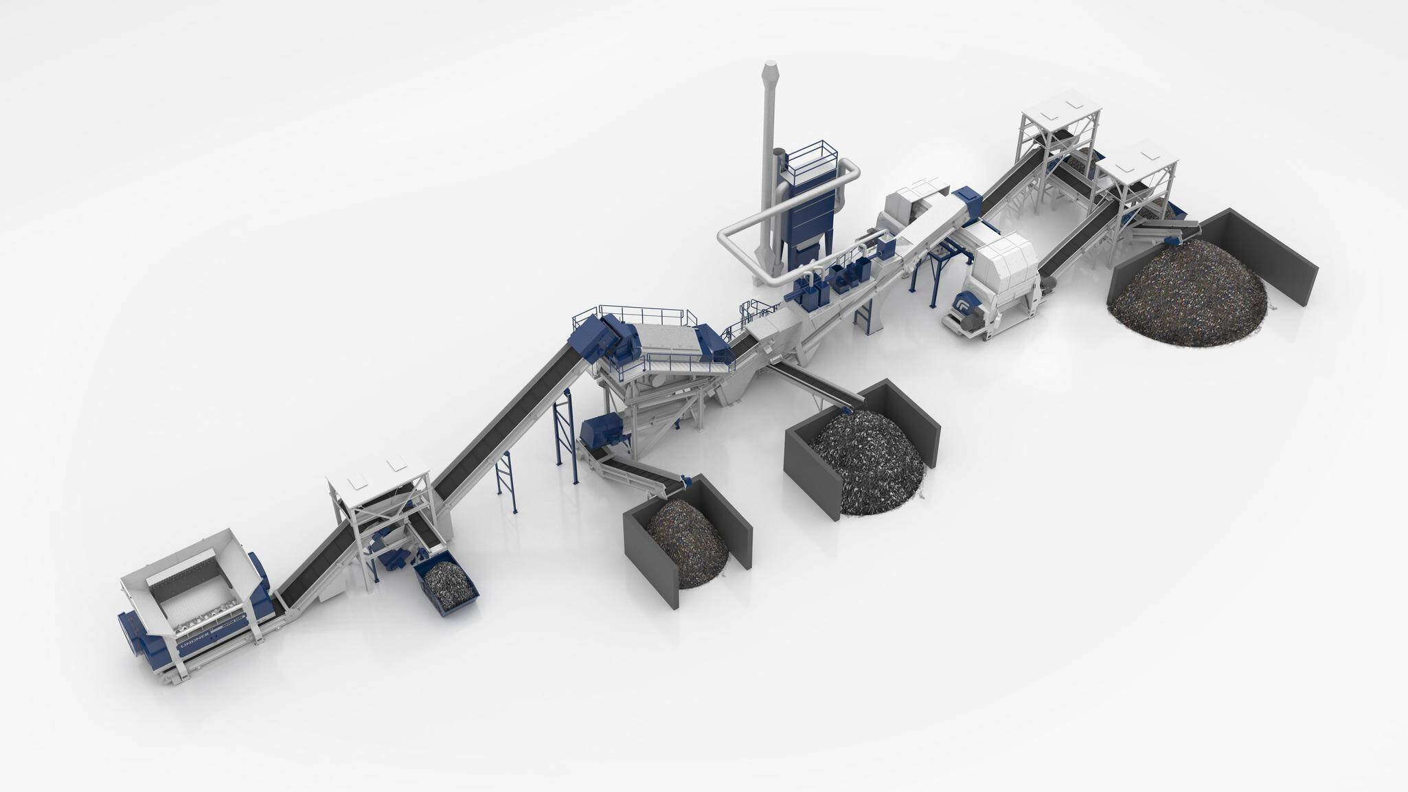 Gallery image 1 - System solution alternative fuel: SRF processing line