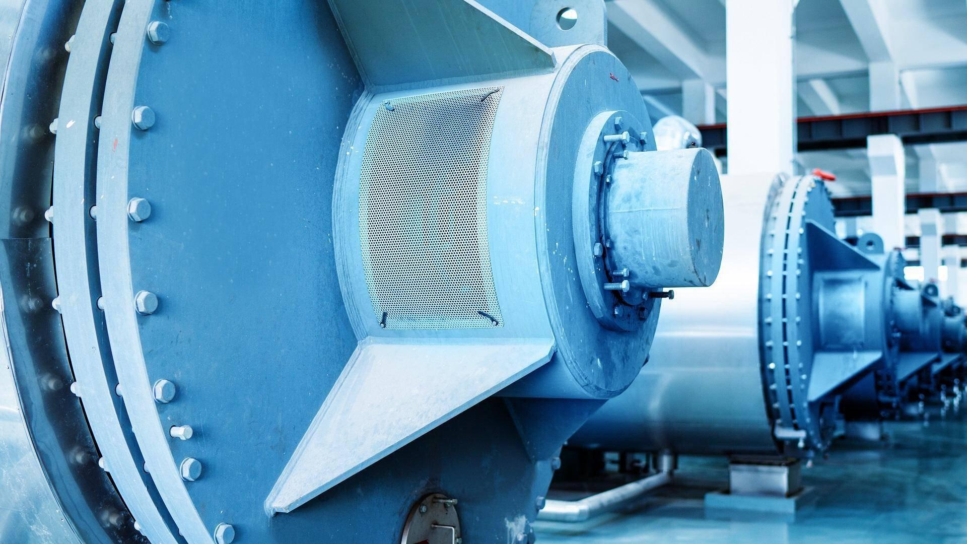Gallery image 0 - Sewage Sludge Drying - Horizontal Thin Film Dryer