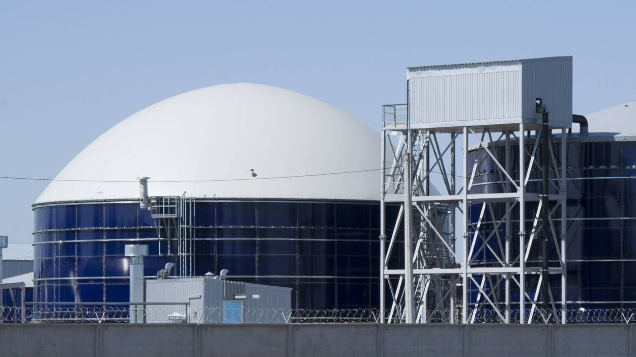 Gallery image 2 - Anaerobic reactor in a biogas plant in Saudi Arabia, 1.000 m³/d