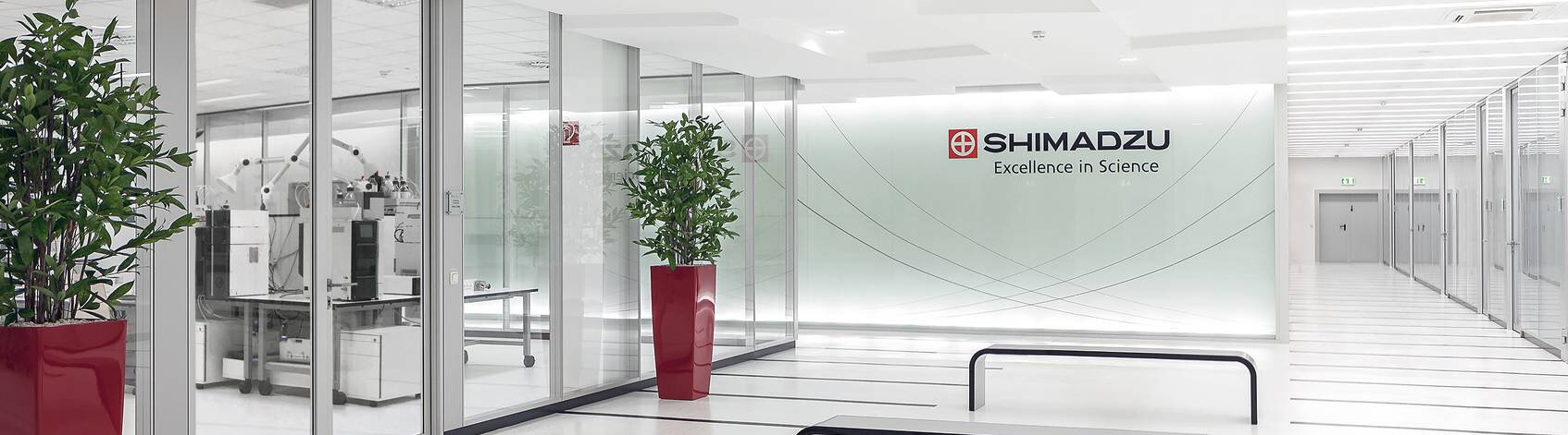 Company banner of Shimadzu Europa GmbH