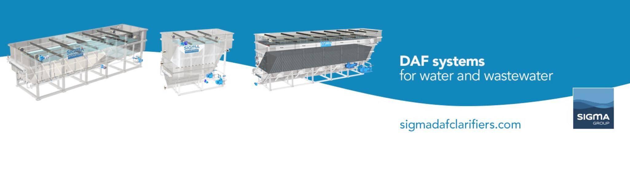 Company banner of SIGMADAF Clarifiers SL