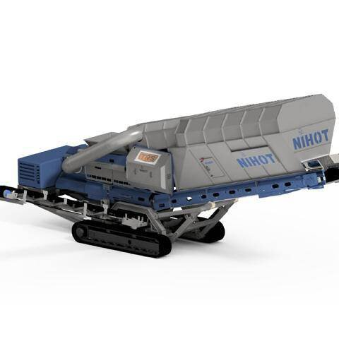 Solution image of Tracked mobile Windshifter (NIHOT)