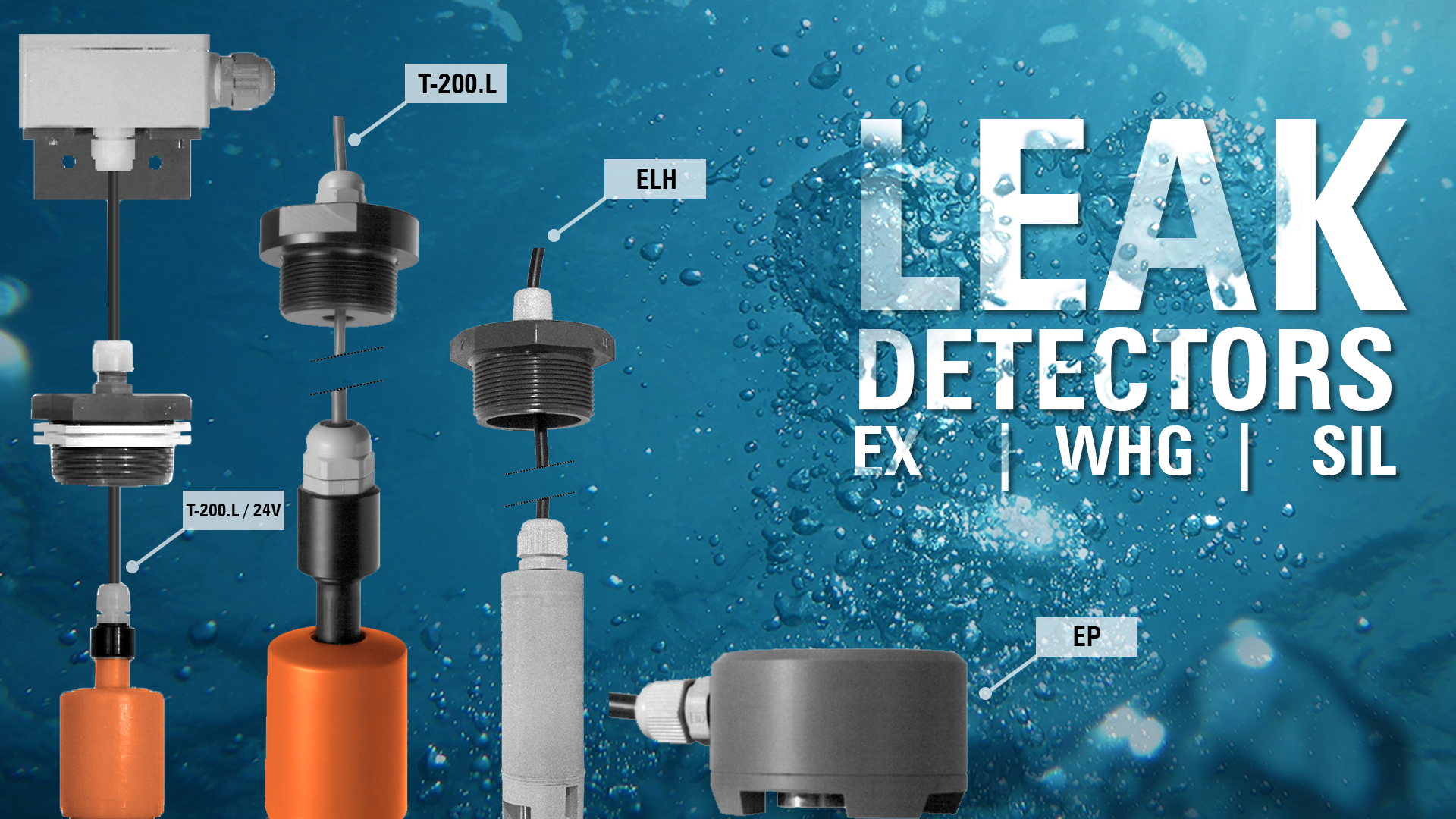 """Gallery image 0 - The leak detectors are approved by """"DIBt"""" for the detection of leaking fluids which constitute a risk to water. The leak detectors can be used among others as leak detectors in the space between a tank and its accompanying drip tray."""