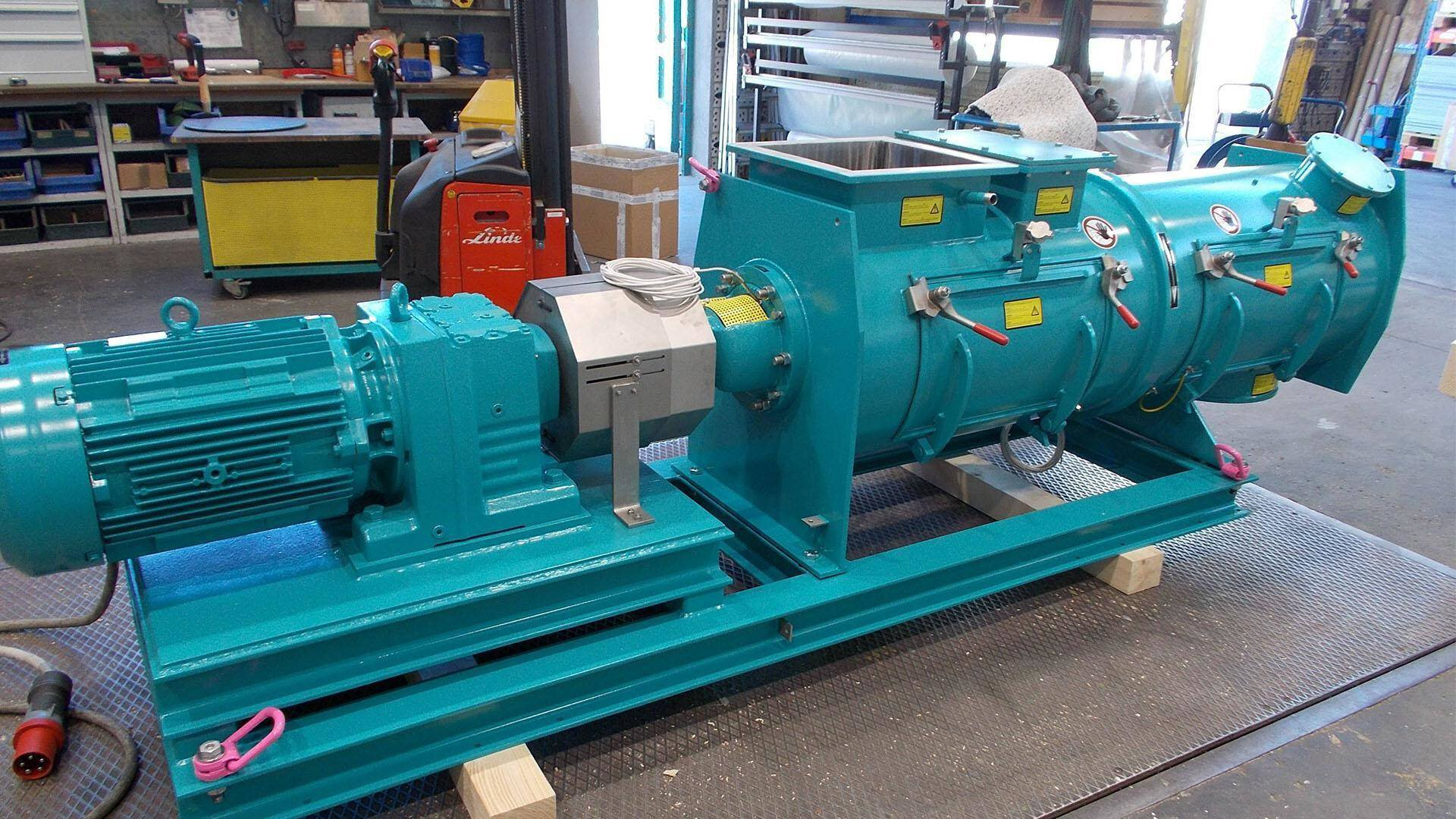 Gallery image 4 - Lödige Ploughshare® Mixer for continuous operation type KM 600 DW