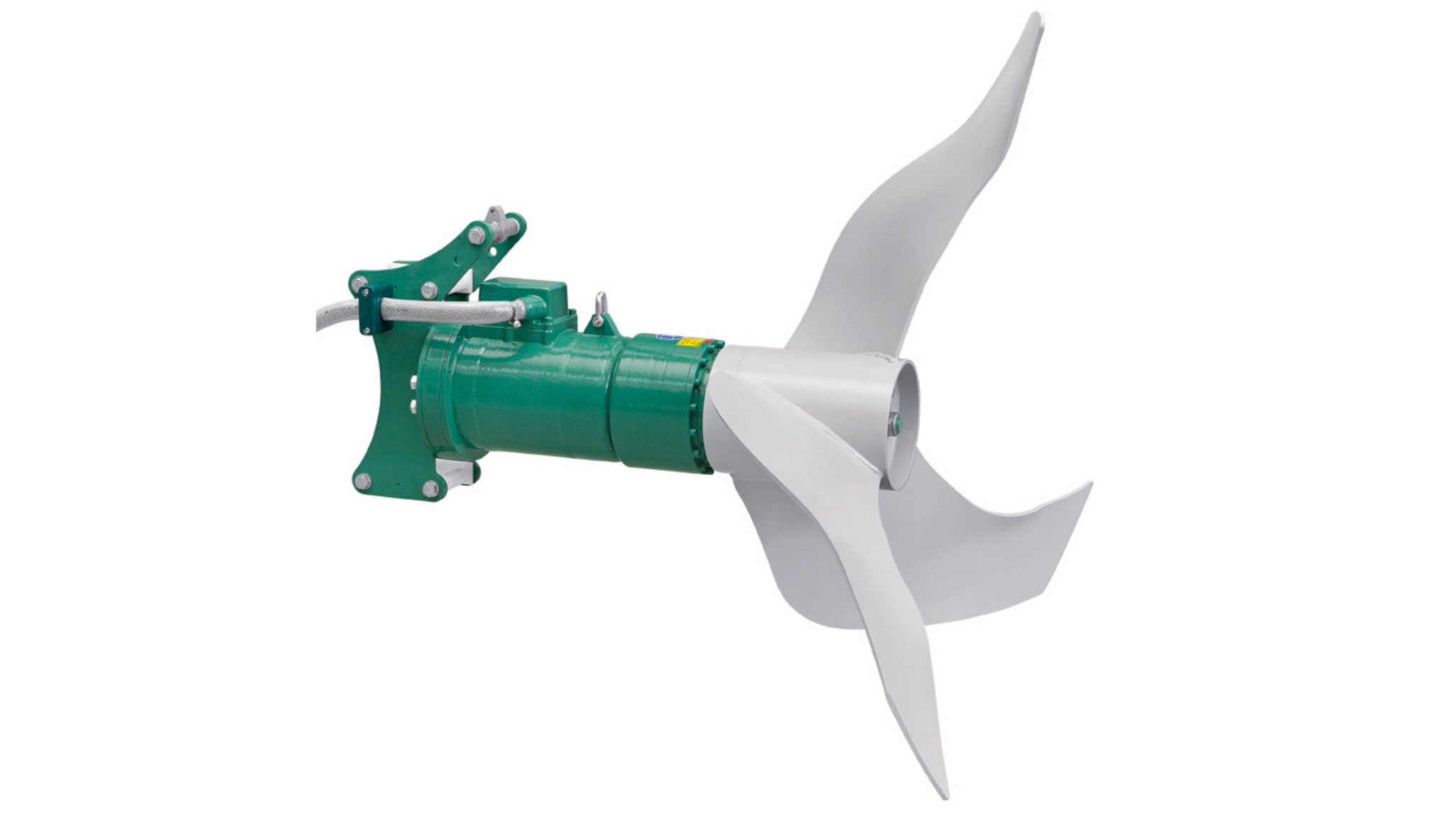Gallery image 3 - OPTIMIX 2G 90-75 *  Submersible motor * For dry matter content up to 12 % * Rated power 5.5 / 9.0 kW * Propeller speed 75 rpm * Propeller Ø 1,400 mm * Slow propeller speed and greater propeller diameter for flow preservation