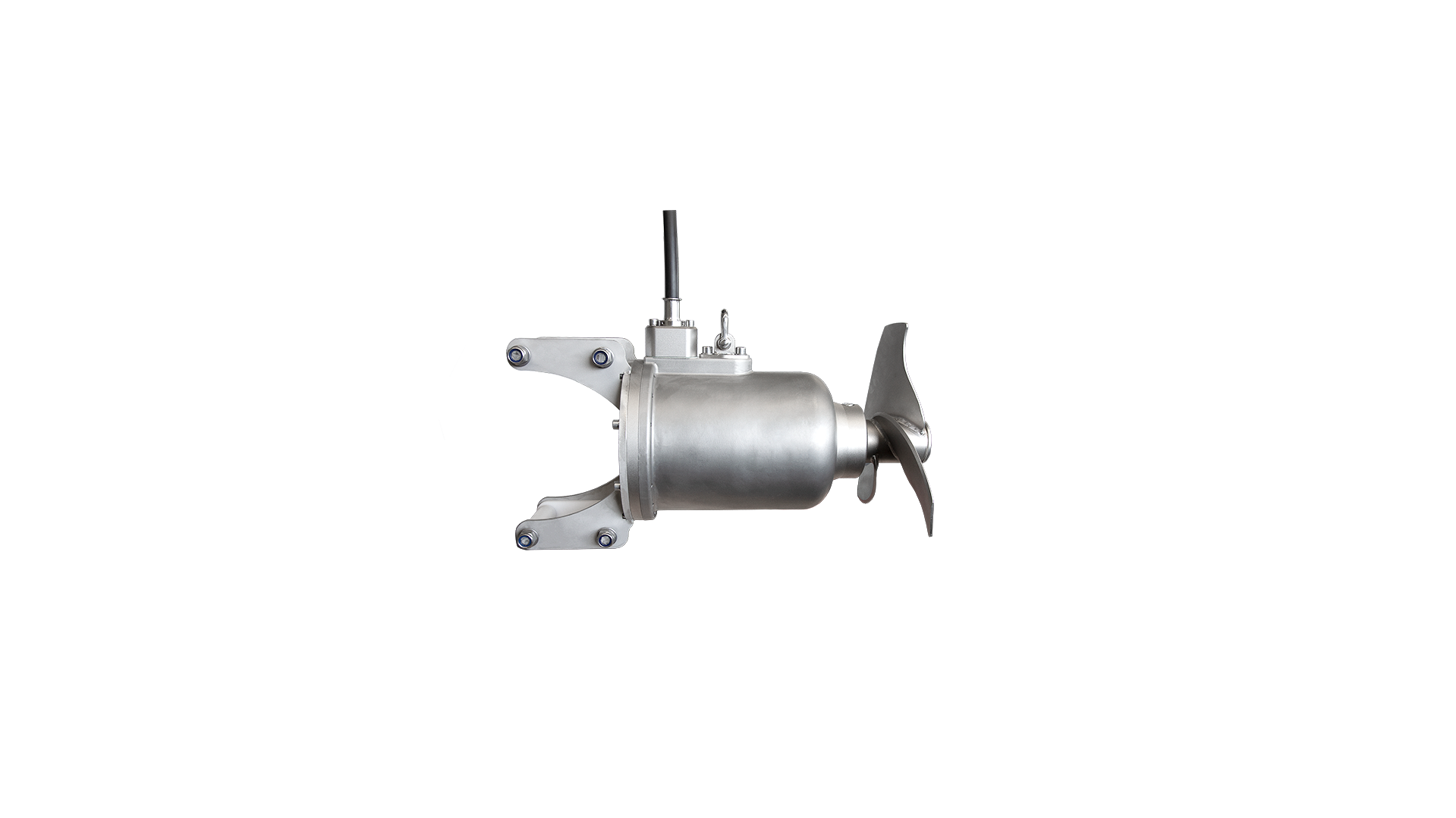 Gallery image 0 - OPTIMIX 2A 15-720 * Submersible  motor * Dry matter content up to 4 % * Rated power 0.8 | 1.5 | 2.2 kW * Propeller-Ø 250 | 320 | 380 mm * Propeller speed 738 | 728 | 714 U/min * Fast running agitator for aggressive media with low pH values