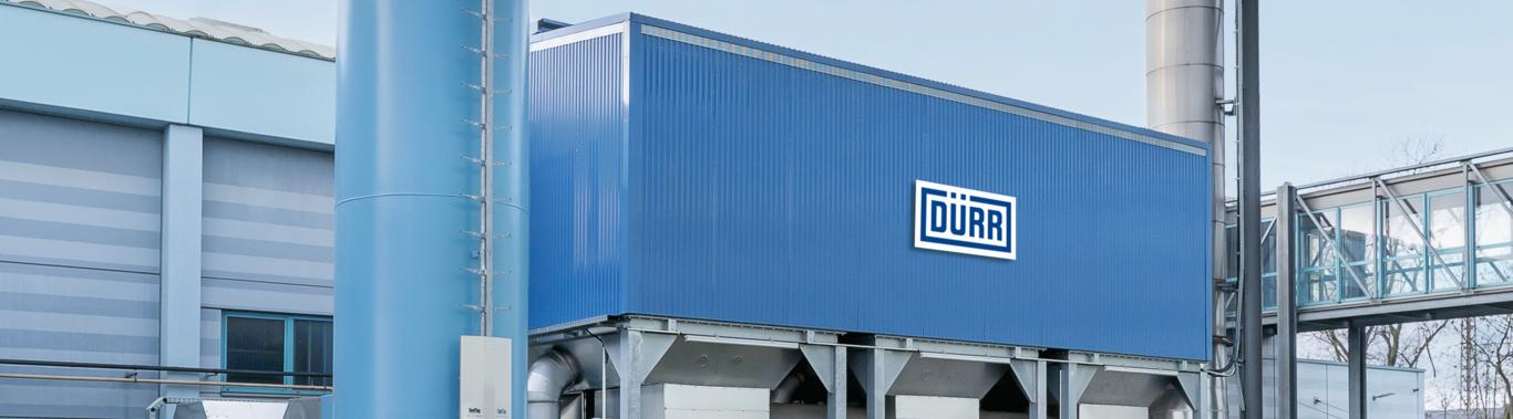 Company banner of Dürr Systems AG