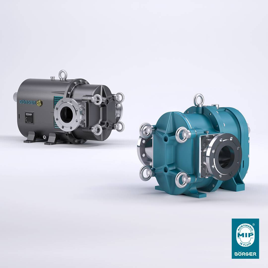Solution image of Börger Rotary Lobe Pumps - Compact. Powerful. Efficient.