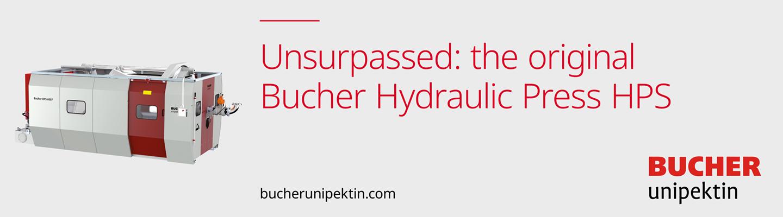 Company banner of Bucher Unipektin AG