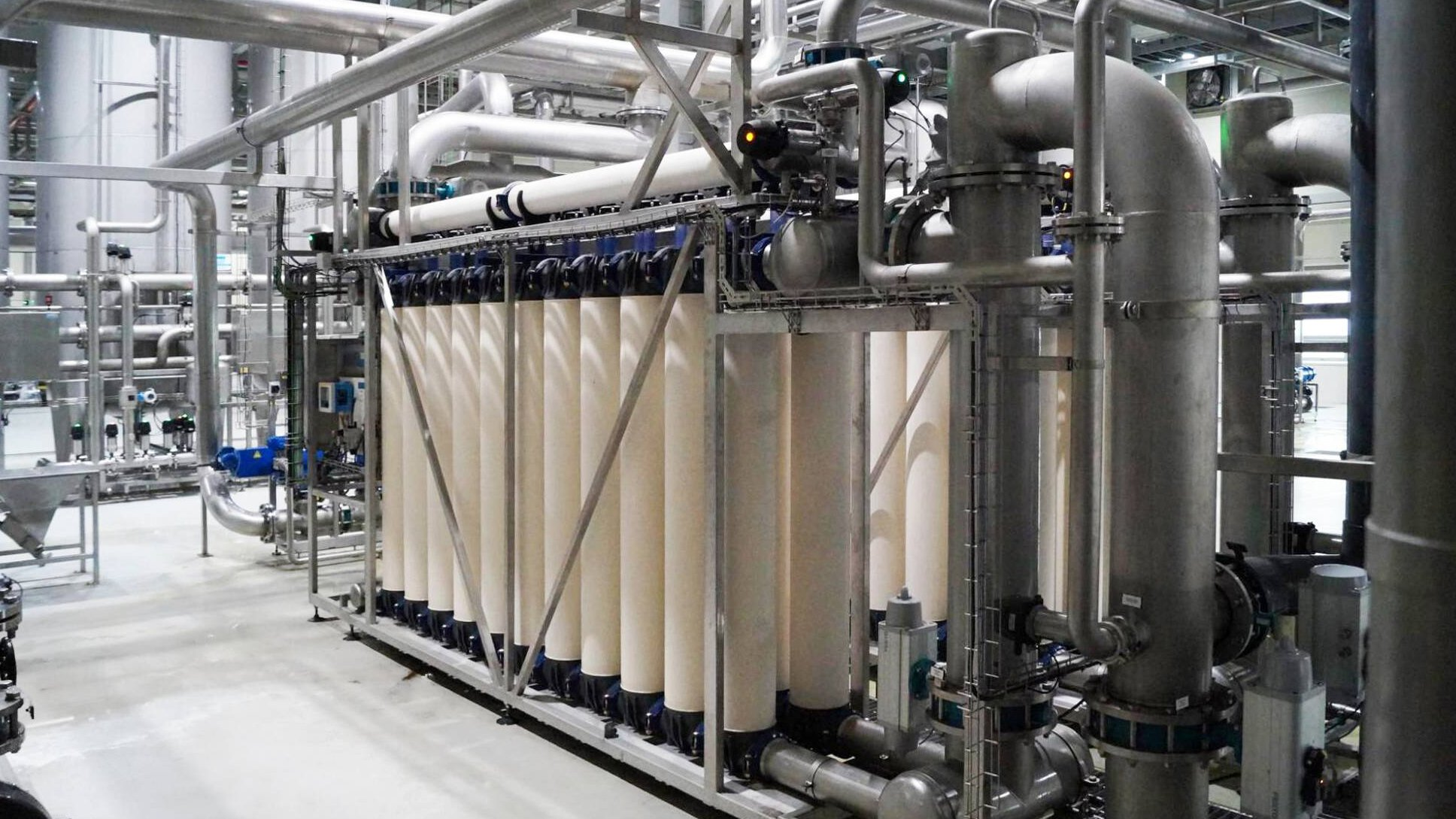 Gallery image 0 - Brewery in Korea, Ultrafiltration, 6.200 m³/d