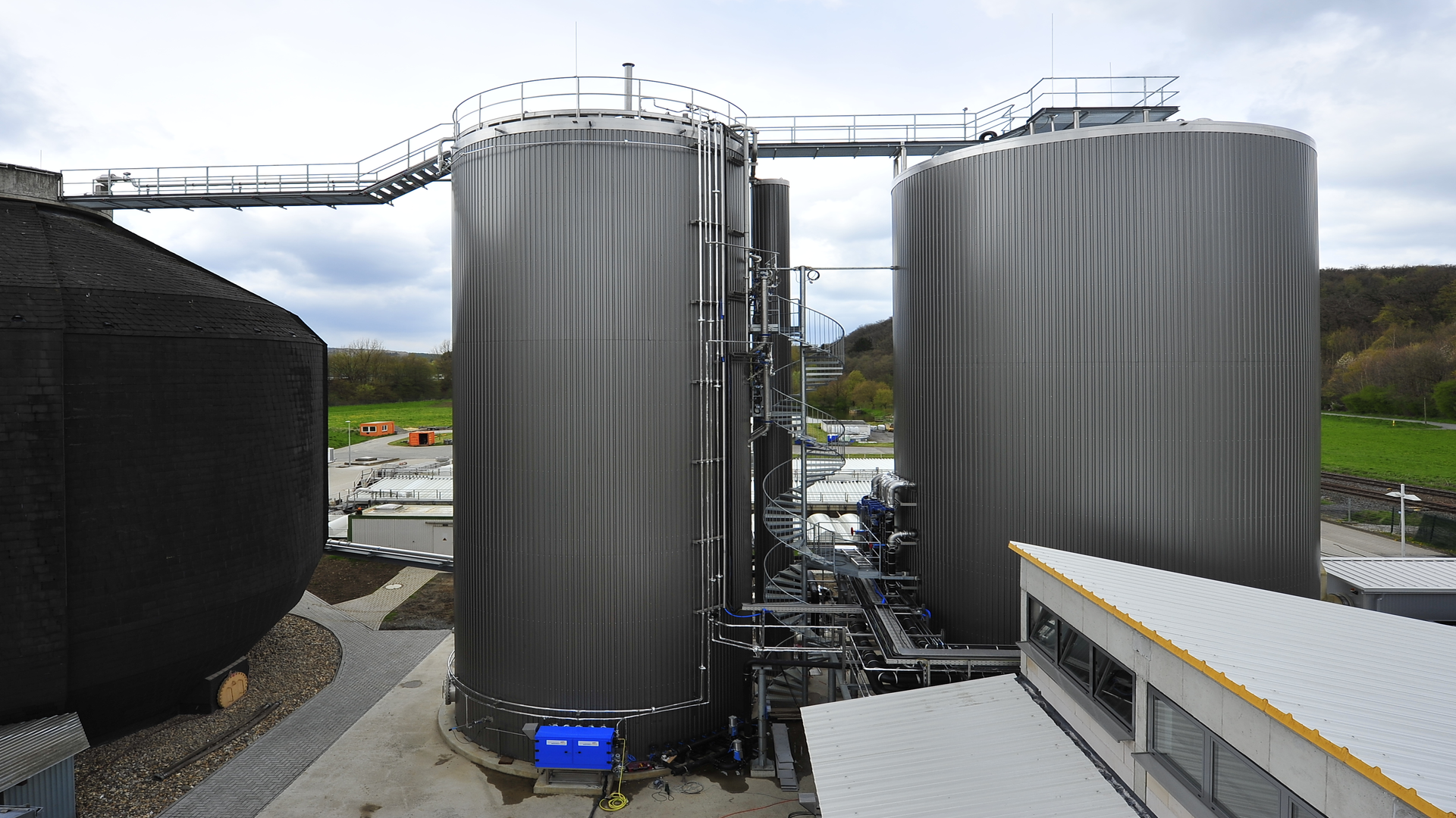 Gallery image 2 - Brauerei biological wastewater treatment with biogas production