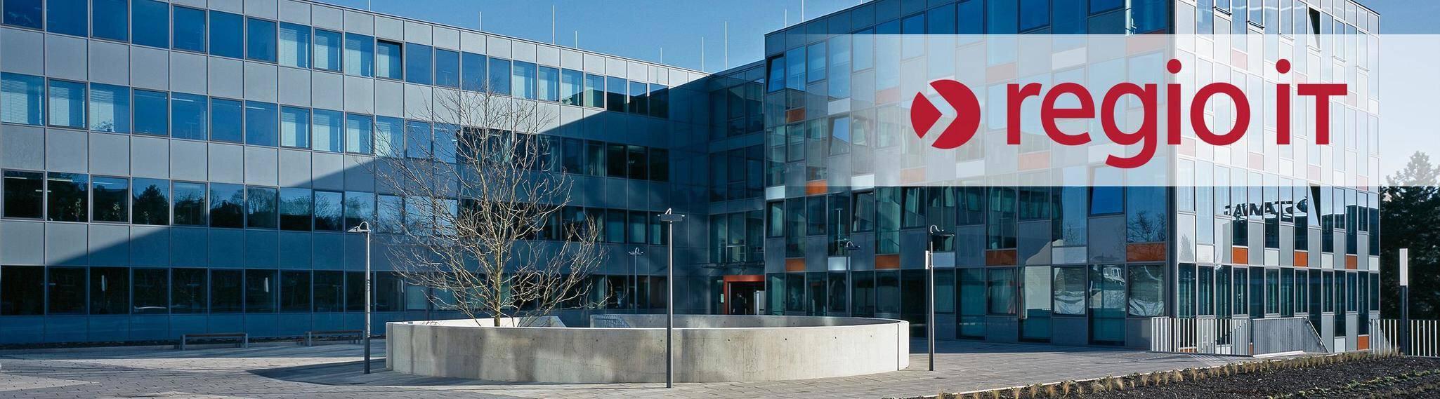 Company banner of regio iT gesellschaft für informationstechnologie mbH