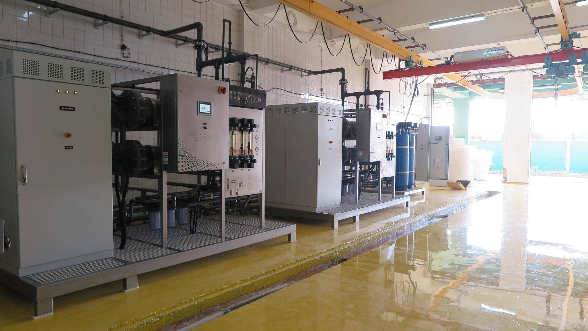 Gallery image 0 - HypoX® On-site Mix Oxidant Generator for BUSKİ water treatment plant with capacity of 40kg/h Chlorine production. Both pre-chlorination and post-chlorination requirements are being covered by HypoX® unit.