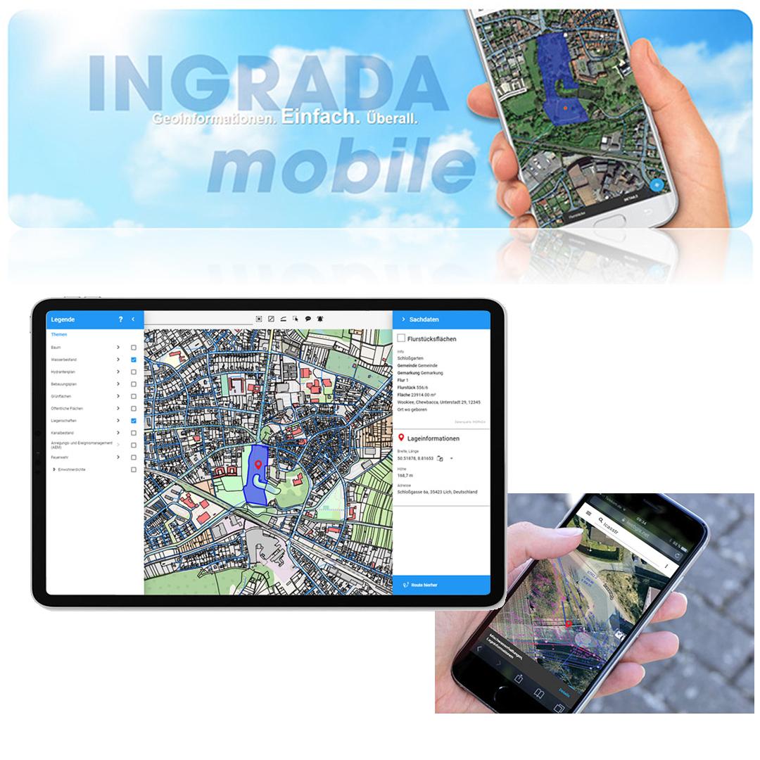 Solution image of INGRADA mobile