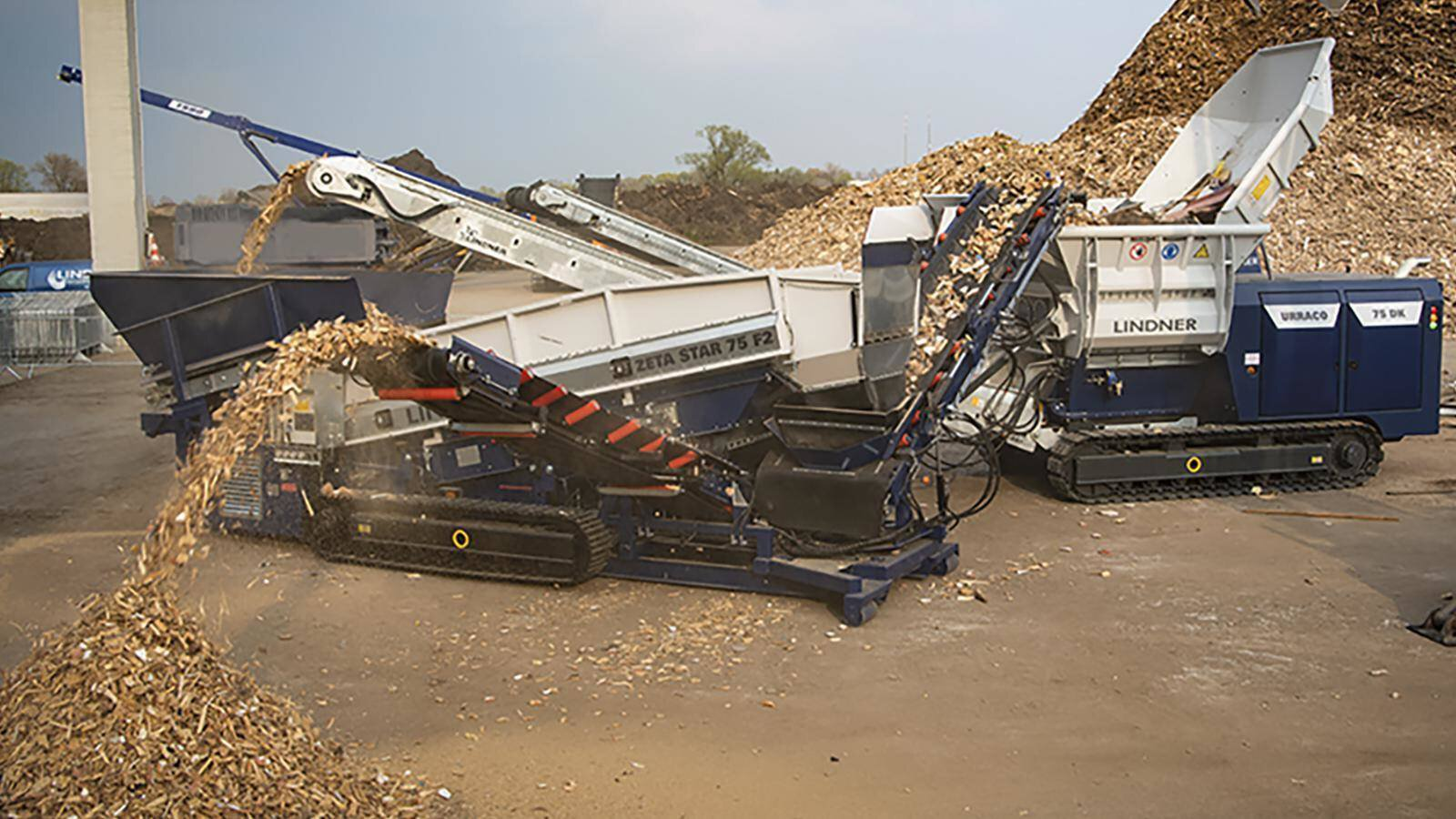 Gallery image 0 - Mobile system solution: shredding and screening