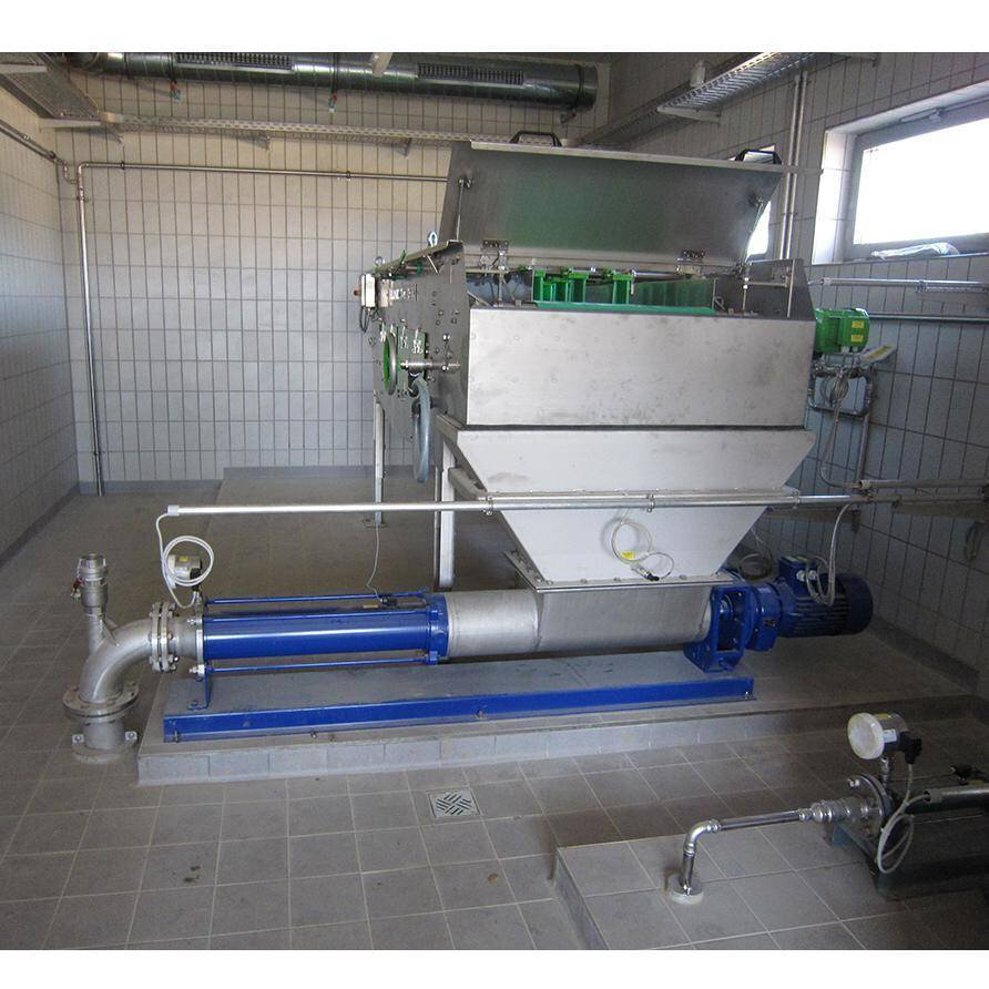 Gallery image 0 - In order to ensure consistent conveying at 4 bar, NEMO® progressing cavity pumps have been installed, for example, for transporting to and from the digestion tank.