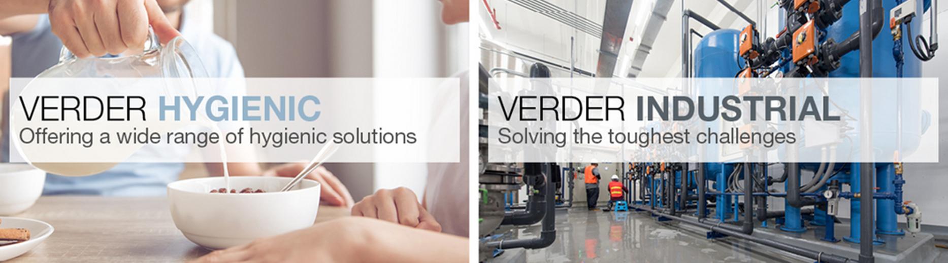 Company banner of Verder Liquids BV