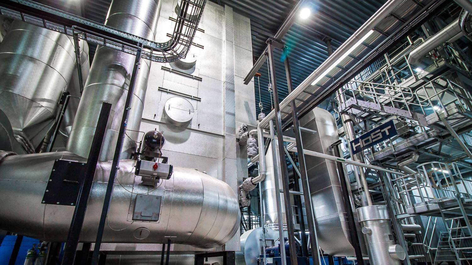 Gallery image 0 - Biomass- and waste-fired combined heat and power plants from 1 MWt to 50 MWt boiler capacity and up to 12 MWe for the production of renewable steam, hot water and electricity.