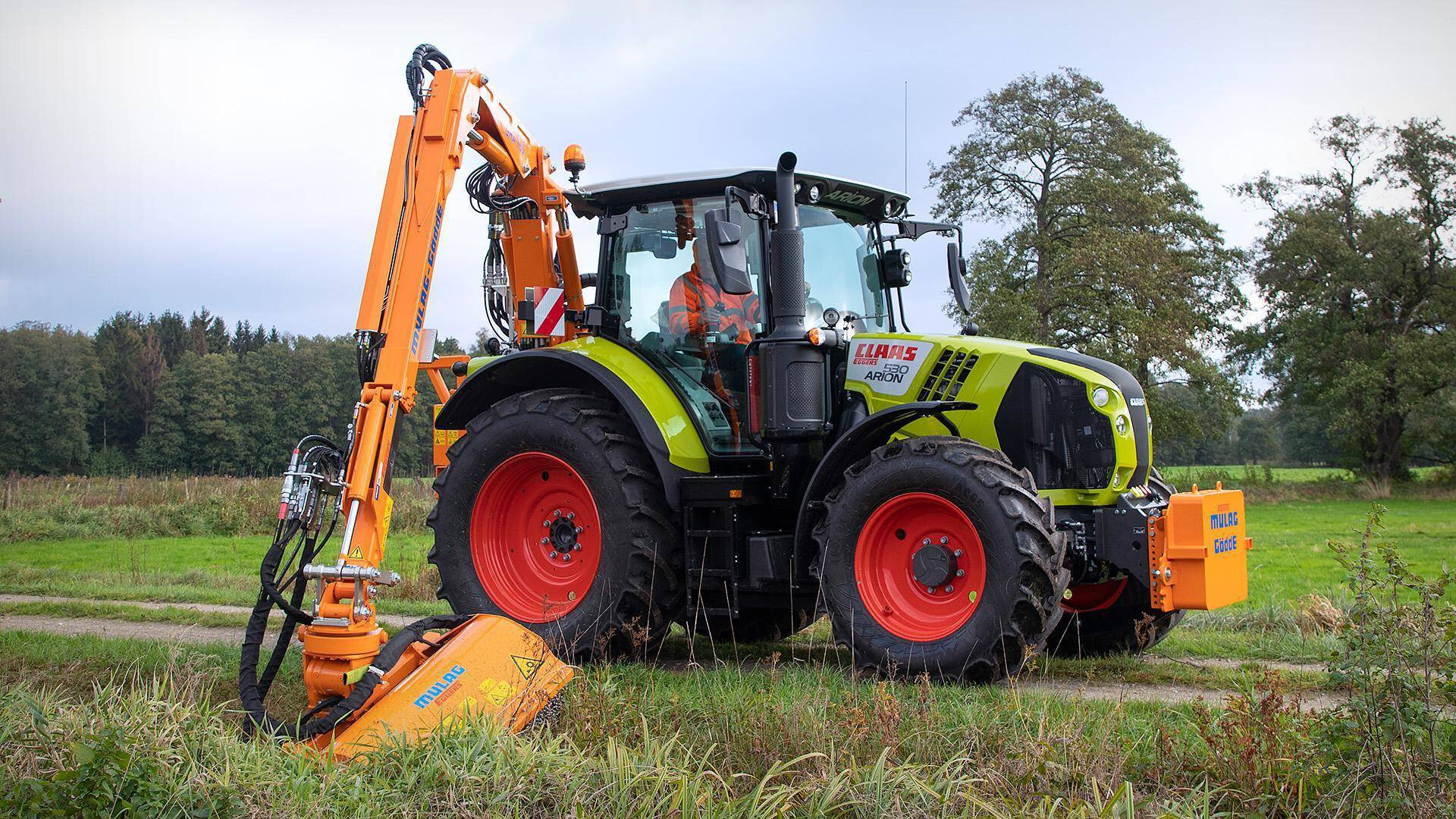 Gallery image 2 - GHA 700 - innovative rear boom mower for municipal tractors